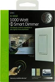 ge 45613 wave wireless lighting control. ge 45613 wave 12725 zwave inwall 1000 watt smart wireless lighting control w