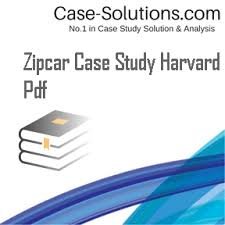 Zipcar case study pdf   Writing And Editing Services