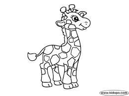 Giraffe Printable Template Giraffe Coloring Sheets Best Free Giraffe Coloring Page Free 2979