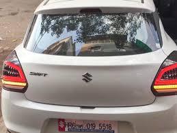 Swift Car Led Lights Maruti Suzuki Swifts Custom Led Tail Lamp Tastefully