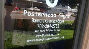 business door vinyl lettering in las vegas