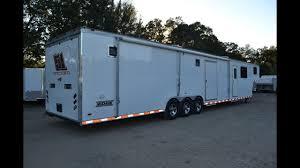 8 5x48 haulmark living quarters trailer