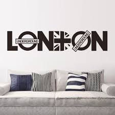 vinyl wall stickers the city of dream london britpop home decoration wall decals art quote poster in wall stickers from home garden on aliexpress  on dream wall art uk with vinyl wall stickers the city of dream london britpop home decoration