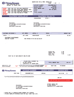 Sample Gallery Detail Pitney Bowes Service Invoice Pitney Bowes
