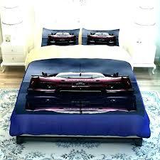 masculine comforter sets bedding luxury race car print men duvet cover twin queen king size mens