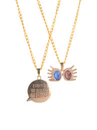efg harry potter official luna s spectrum set of 2 necklace necklace and chains for women 2331646 myntra