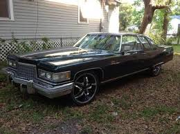 1976 cadillac deville base coupe 2 door 8 2l old donk