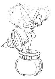 Small Picture Tinkerbell Coloring Pages Printable Cartoon Coloring pages of