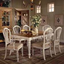 hillsdale pine island 7 piece dining set. hillsdale wilshire 7 piece rectangular dining table set in white pine island