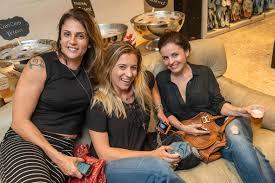 Mariana Jacobson, Michelle Moraes e Layla Brizola   Circolare