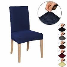 Home, Furniture & DIY 1/4/6/8Pcs <b>Stretch</b> Dining <b>Chair Cover</b> ...