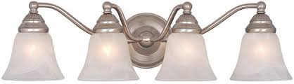 vaxcel vl35124bn standford brushed nickel 4 light bathroom light fixture loading zoom