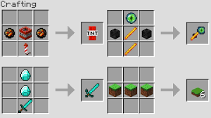 minecraft crafting. MORE NEW CRAFTING RECiPES (Minecraft 1.13 Snapshot) Minecraft Crafting A