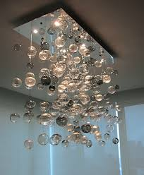 bubbles blown glass artisan crafted lighting intended for contemporary house glass bubble light plan fabulous glass