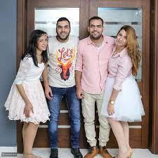 صور خالد عليش وزوجته ميما شامي التي شبهها الجمهور بسارة سلامة.. اكتشفوها -  ليالينا