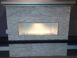 boulevard 38 inch vent free linear fireplace