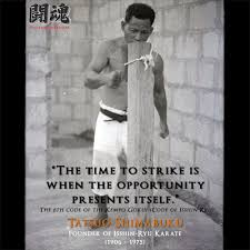 Martial Arts Quotes Magnificent Tatsuo Shimabuku Quote Martial Arts Styles Fighting Techniques