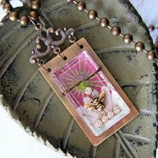create a personal keepsake with this free diy reliquary pendant tutorial