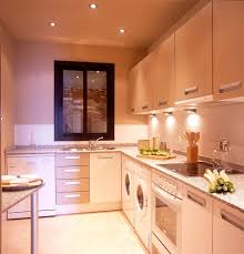 outstanding galley kitchen designs with island awesome small white laminate galley kitchen design with l