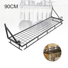kitchen hanging pot pan rack shelf