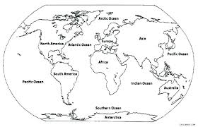 World Map Coloring Page Online Coloring Page Map Coloring Page Map