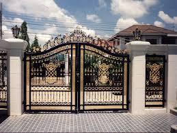 Iron Gates Design Gallery 40 Images Yummy Raw Kitchen Interesting Home Gate Design