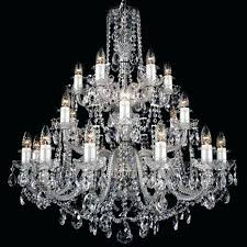 teardrop crystal chandelier light large