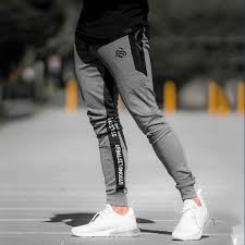 Size Chart For Mens Joggers Mens Joggers Pants Sweat Fashions Casual Jogger Fitness Pants Men Cotton Pencil Baggy Pantalon Homme Trousers Mens Workout Pants C19040401