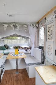 this camper is full of diy projects you d never believe how it looked