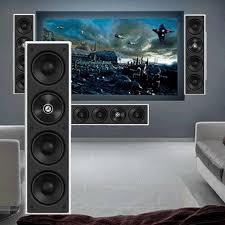 kef home speakers. 3 pack deal kef ci4100ql in wall speaker right left \u0026 centre kef home speakers