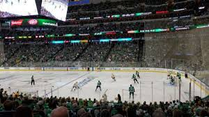 American Airlines Center Section 116 Home Of Dallas Stars