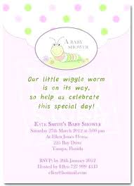 Baby Shower Invitation Text Template Cute By Ideas Boy