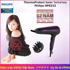 Máy Sấy Tóc Tạo Ion Philips HP8233 hãng phân phối, Giá tháng 10/2020