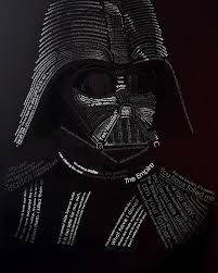 Darth Vader Quotes Awesome Darth Vader Typography Art Using His Own Movie Quotes