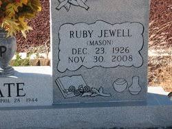 Ruby Jewell Mason Pate (1926-2008) - Find A Grave Memorial
