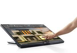 24-дюймовый <b>сенсорный монитор</b> Dell с антибликовым ...