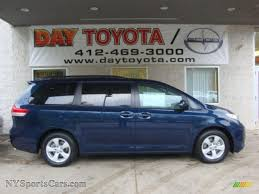 2011 Toyota Sienna LE in South Pacific Blue Pearl - 084780 ...