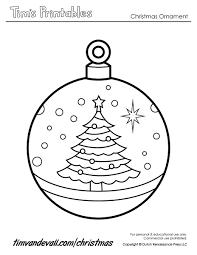 Printable Christmas Ornament Templates Template Business