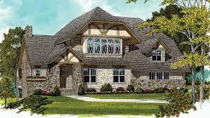 4 Bedroom Tudor Home Plan HOMEPW10003