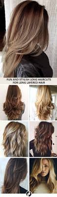 Beautiful Long Hairstyles 25 Best Ideas About Long Layered Haircuts On Pinterest Long