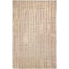 julie cohn tan 4 ft x 6 ft area rug