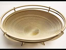 laser cut wooden birch bowl decor free file