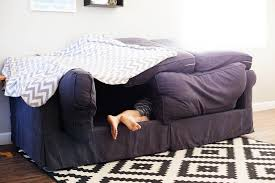 Easy Couch Fort All for the Boys