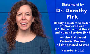 UPR of the United States: Statement by Dorothy Fink, M.D. ...