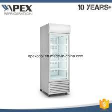 restaurant upright showcase freezer commercial used glass door display freezers vertical display