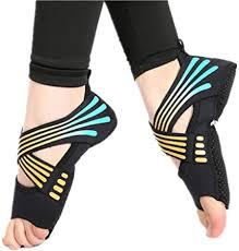 Micrkrowen Bandage <b>Aerial Yoga</b> Socks Non-Slip Fitness <b>Shoes</b>