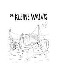 Kleurplaat De Kleine Walvis Van Benji Davies By Veen Bosch Keuning