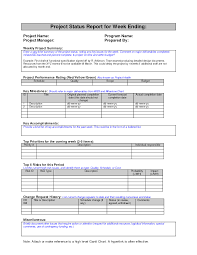 Sample Weekly Report weekly project status report sample Google Search Work 1