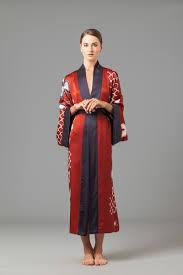 plus size silk robe silk kimono