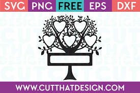 This listing is for a digital download that contains a zipped folder that includes a svg for cricut, dxf for silhouette, png for clip art, jpg for printables, and a eps file. Free Svg Files Free Svg Family Tree 5 Names And Surname Cut That Design